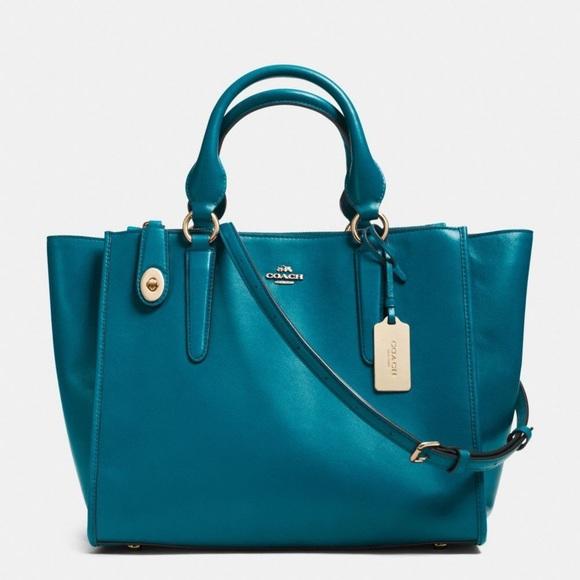 Coach Handbags - Coach Crosby Convertible Satchel